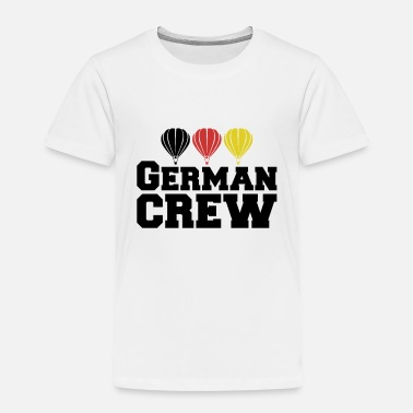 Picture Hot Air Balloon Balloonist Pilot German Crew Gift - Toddler Premium T-Shirt