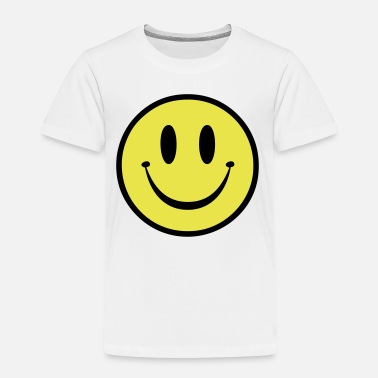 Rave Old Skool Rave Smile - Toddler Premium T-Shirt
