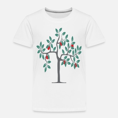 Tree Apple Tree - Toddler Premium T-Shirt