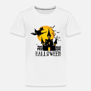 Scary Happy Halloween - Toddler Premium T-Shirt