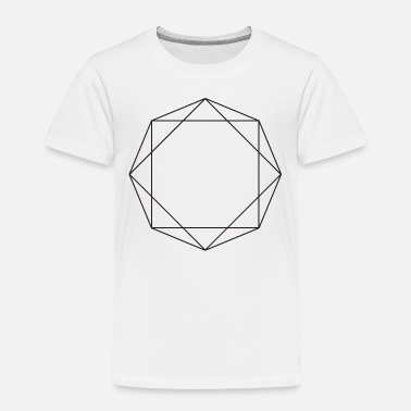 Symbols & Shapes Octagon symbols shapes gift geometric sign hipster - Toddler Premium T-Shirt