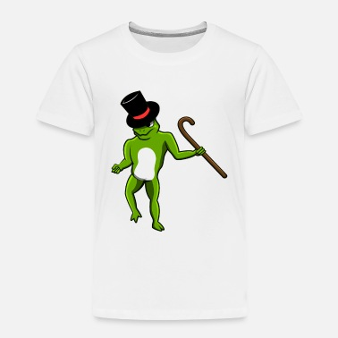 Rain FUNNY DANCING FROG TOAD LURCH GIFT - Toddler Premium T-Shirt