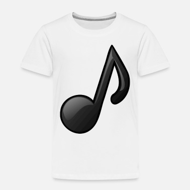 Note Clue Music Note Musical Notes Instrument Gift Present - Toddler Premium T-Shirt