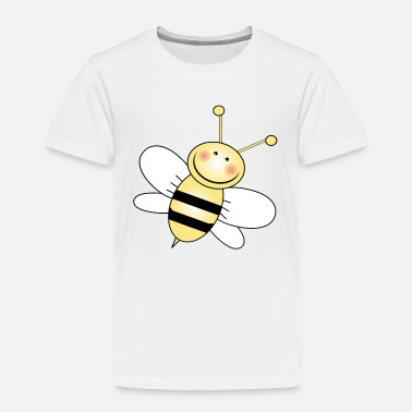 Toddler Bumble Bee White Wings - Toddler Premium T-Shirt