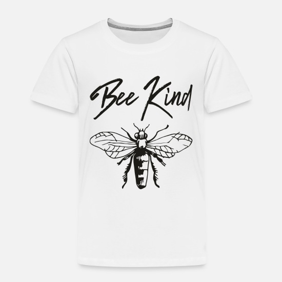 Kind Baby Clothing - bee kind - Toddler Premium T-Shirt white