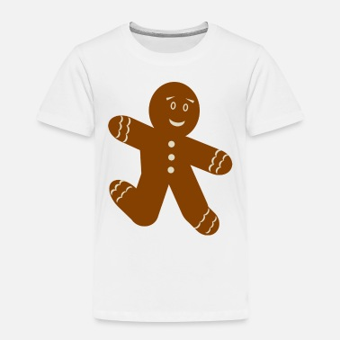 Man Gingerbread Man - Toddler Premium T-Shirt