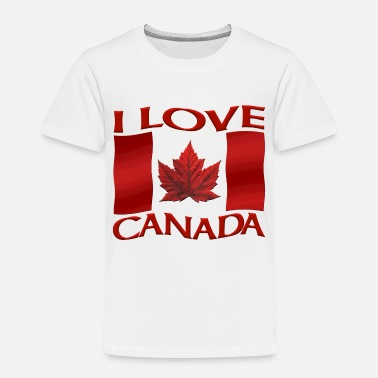 Canadian I Love Canada Shirts & Canada Souvenir Gifts - Toddler Premium T-Shirt