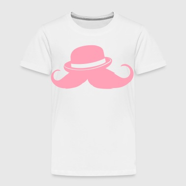 Moustache melone - Hipster - Toddler Premium T-Shirt