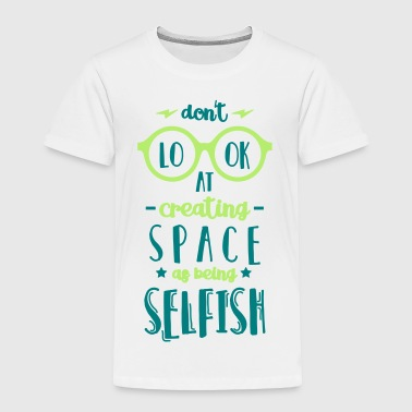 Selfish clothing store
