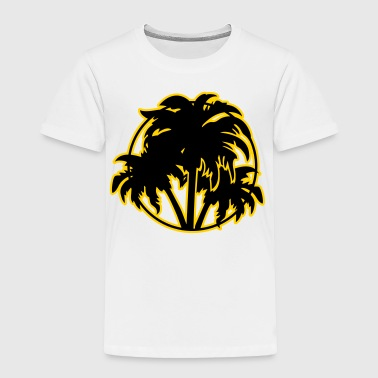 Palm trees - Toddler Premium T-Shirt