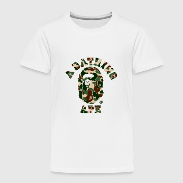 A bathing ape woodland camo FULL - Toddler Premium T-Shirt