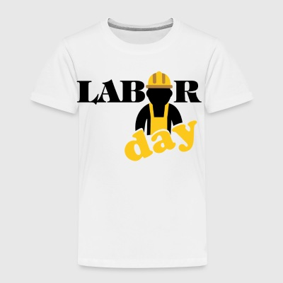 labor day shirt, Happy labor day shirt - Toddler Premium T-Shirt