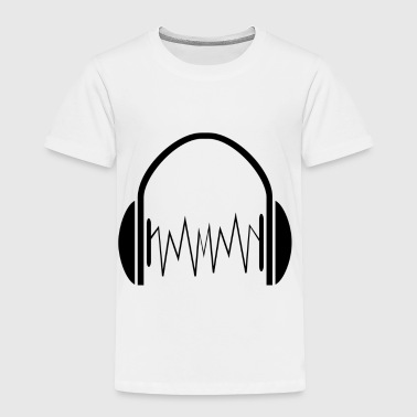 headphone - Toddler Premium T-Shirt