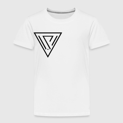 cropped VIVID VENUS graphic design logo minimalist - Toddler Premium T-Shirt