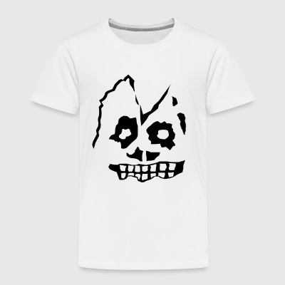 Zombie Head - Toddler Premium T-Shirt