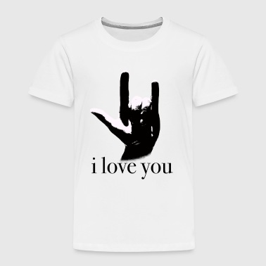 sign language I love you - Toddler Premium T-Shirt