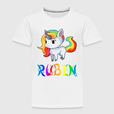 Rubin Unicorn - Toddler Premium T-Shirt