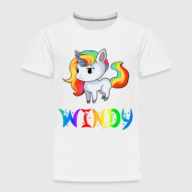 Windy Unicorn - Toddler Premium T-Shirt