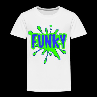 funky cool present - Toddler Premium T-Shirt