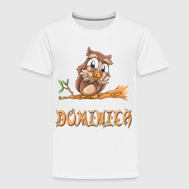 Dominica Owl - Toddler Premium T-Shirt