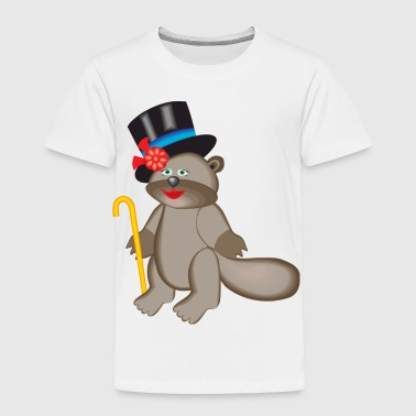beaver - Toddler Premium T-Shirt
