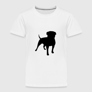 Cute Dog - Toddler Premium T-Shirt
