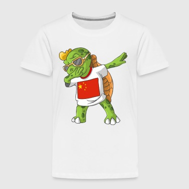 China Dabbing Turtle - Toddler Premium T-Shirt
