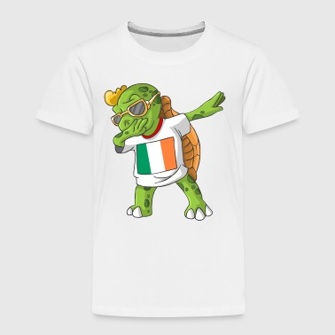 Ireland Dabbing Turtle - Toddler Premium T-Shirt
