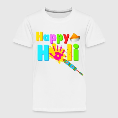 Rang Barse HAPPY HOLI Tshirt - Toddler Premium T-Shirt