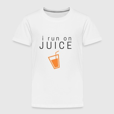 I run on juice - Toddler Premium T-Shirt