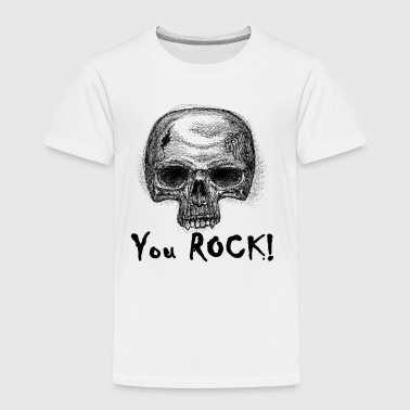 You ROCK vampire skull - Toddler Premium T-Shirt