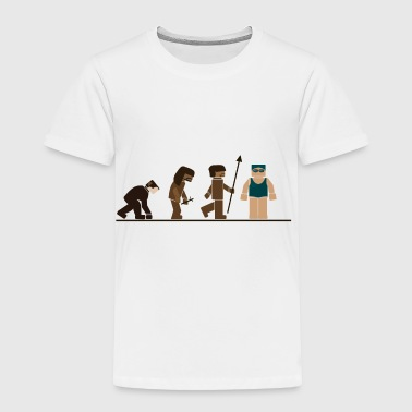 Swimming Sport Evolution - Toddler Premium T-Shirt