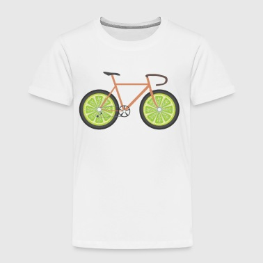 Bike Lemon Shirt - Bicycle Gift - Toddler Premium T-Shirt