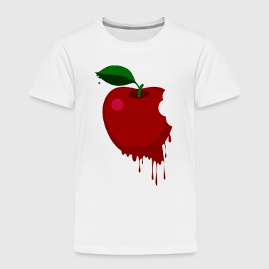 Melted red apple - Toddler Premium T-Shirt