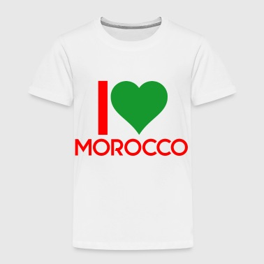 I love Morocco - Toddler Premium T-Shirt