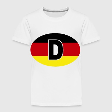 DEUTSCHLAND - Toddler Premium T-Shirt