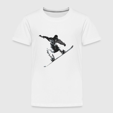 Snow Boarder - Toddler Premium T-Shirt