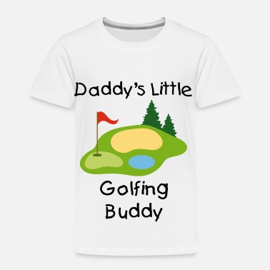 Golf Course Golfing Golf Course - Toddler Premium T-Shirt
