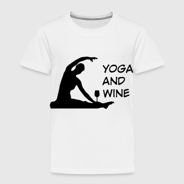 2541614 127452980 yoga - Toddler Premium T-Shirt