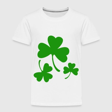 3 Three Leaf Clovers - Toddler Premium T-Shirt