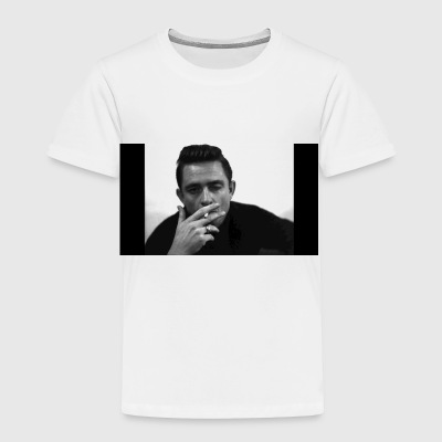 Winking Johnny Cash - Toddler Premium T-Shirt