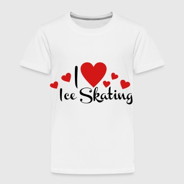 2541614 113587982 ice skating - Toddler Premium T-Shirt