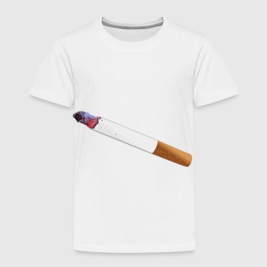 Cigarette Smoke Tabacco Joint Gift Present - Toddler Premium T-Shirt