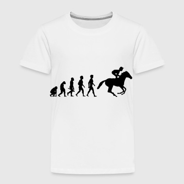 reiten reiter evolution pferde reitsport cowboy4 - Toddler Premium T-Shirt