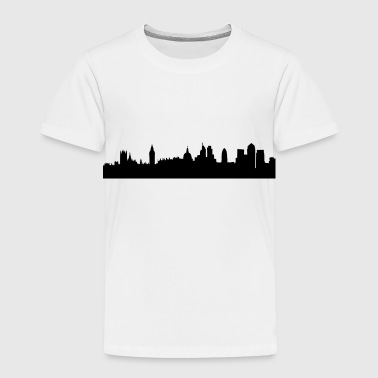 London cityscape silhouette - Toddler Premium T-Shirt