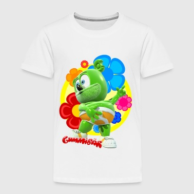 Gummibär Flowers - Toddler Premium T-Shirt