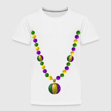 mardi gras beads - Toddler Premium T-Shirt