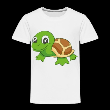 Cute Turtle - Toddler Premium T-Shirt