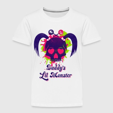 Daddys Lil Monster - Toddler Premium T-Shirt