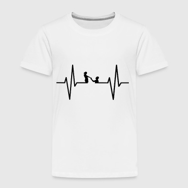 My heart beats for marrying! gift - Toddler Premium T-Shirt